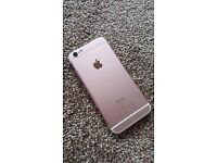 iPhone 6s boxed ROSE GOLD