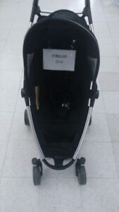(137) Quinny stand stroller $120