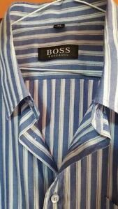 BOSS,LACOSTE, ARMANI AND GUCCI SHIRTS IN M,L,XL