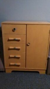 1950's 1960's Nursery Dresser - Childs dresser/Wardrobe