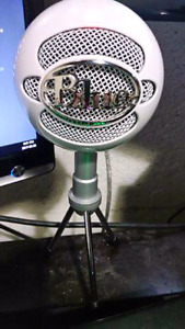 Blue Snowball Ice Cardioid Microphone