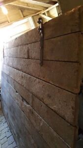 Large and rare - 100 year old barn door