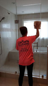 Crown Cleaning Services- York Region and Georgina (Special!)