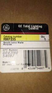 NEW GE RMP 2 35 REMOTE CONTROL MASTER STATION WALL PLATE