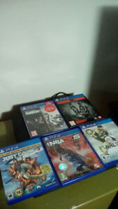 Several Games for Sale! PS4