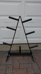 Weight Plate Storage Rack / Stand for 1 inch or 2 inch