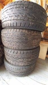 Tires from pick up