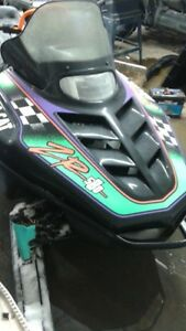 Parting out 1994 Arctic Cat ZR 580