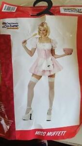 Little Miss Muffett costume - ALL USED ONCE, perfect condition