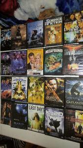 34 films dvd de science fiction,série 1 à 4 et livre Twilight