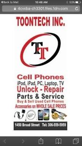 ******Lowest price in Regina*****  on  Screen Replacements