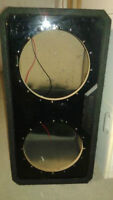"Caisson MTX 2 12"" vented boite subwoofer box Ported"