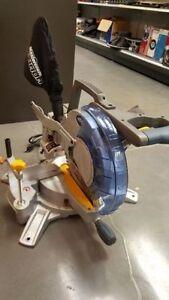Scie Onglet 12po Biseaux doubles avec laser
