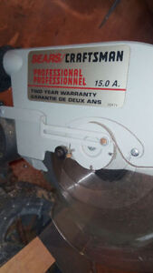 CRAFTSMAN CHOP SAW WITH TABLE -- WORKS LIKE A CHARM!! $45!!!!