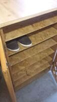 Got shoes?  Shoe storage cabinet up to 42 pairs!