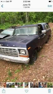 1978 f150 f100 ford parts for sale