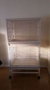Large parrot or finch cage