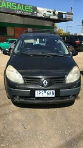2005 Renault Scenic Expression Black 4 Speed Automatic Wagon