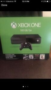 NEW sealed xbox one bundle/ 1000 gb xbox1 limited edition