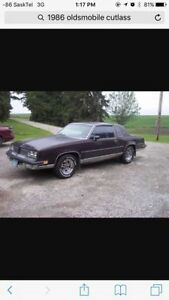 Looking for a 81 to 88 olds cutlass