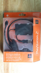 PS2 USB headset by Logitech Sealed