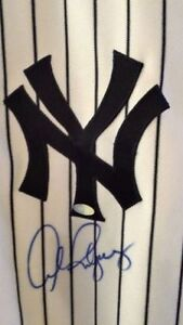Alex Rodriguez Autographed New York Yankees Home Jersey Steiner