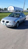 **BEAUTIFUL SAFTIED 2005 NISSAN SENTRA WITH LOW KMS**