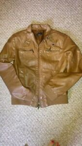Faux leather jacket from Sirens size large