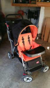 Joovy Double Stroller comes with Rain Cover