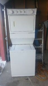 2 in 1 stacked washer and dryer for sale Measuremnts:74h 27w 28d