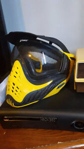 V-Force Yellow Paintball Mask