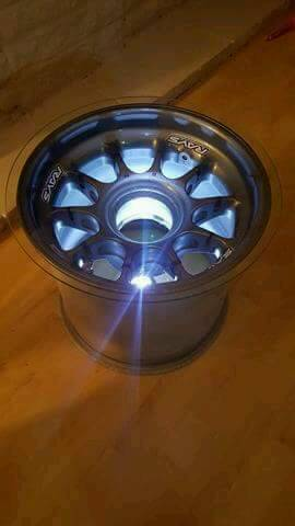 Rays F1 Front Wheel Coffee Table