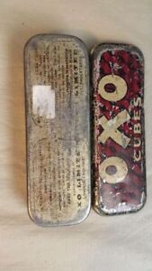 Antique OXO Cubes Tin Kingston Kingston Area image 4