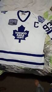 65th Anniversary Edition Autographed Doug Gilmour home jersey London Ontario image 1