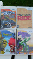 wii games very good games $10 each game