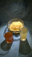 Kefir water healthy grains   Kefir de l'eau