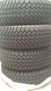 4 TIRES. Goodyear Nordic Winter 225 55 R17 97S NEW!