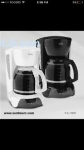 PERFECT SUNBEAM COFFEE MAKER !!!  ONLY $25 !!