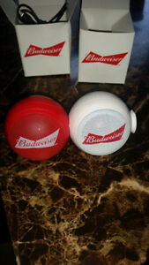 Budweiser Collectible Bluetooth Audio Speaker  New in the box