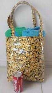 New With Tag Australia Hand made Ladies Yellow Beach handbag Tote Clayfield Brisbane North East Preview