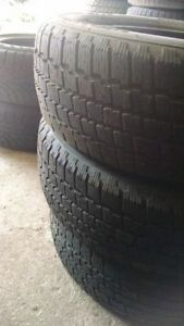 185/60r15 WINTER Snow Tires. $40 for 3!