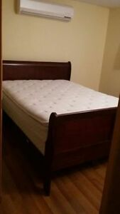 Gorgeous quality sleigh bed bedroom set