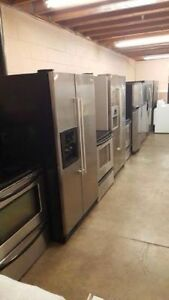 Fridge Stove Washer Dryer Dishwasher No TAX & FREE DELIVERY