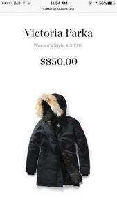 Authentic Canada Goose Victoria Jacket