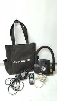 Avermedia Cp300 Document Camera Projector With Case Remote And Adapter