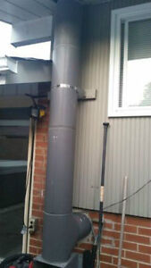 Stainless Steel Insulated Chimney for sale Cambridge Kitchener Area image 1