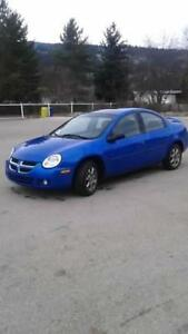 Estate Sale. Low kilometers. 2005 Dodge Neon SX 2.0