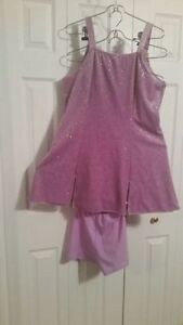Ladies Purple Dance Dress