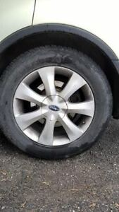 18 INCH RIMS FROM SUBARU TRIBECA