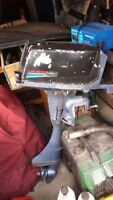 ESKA 7HP Outboard with spare parts motor
